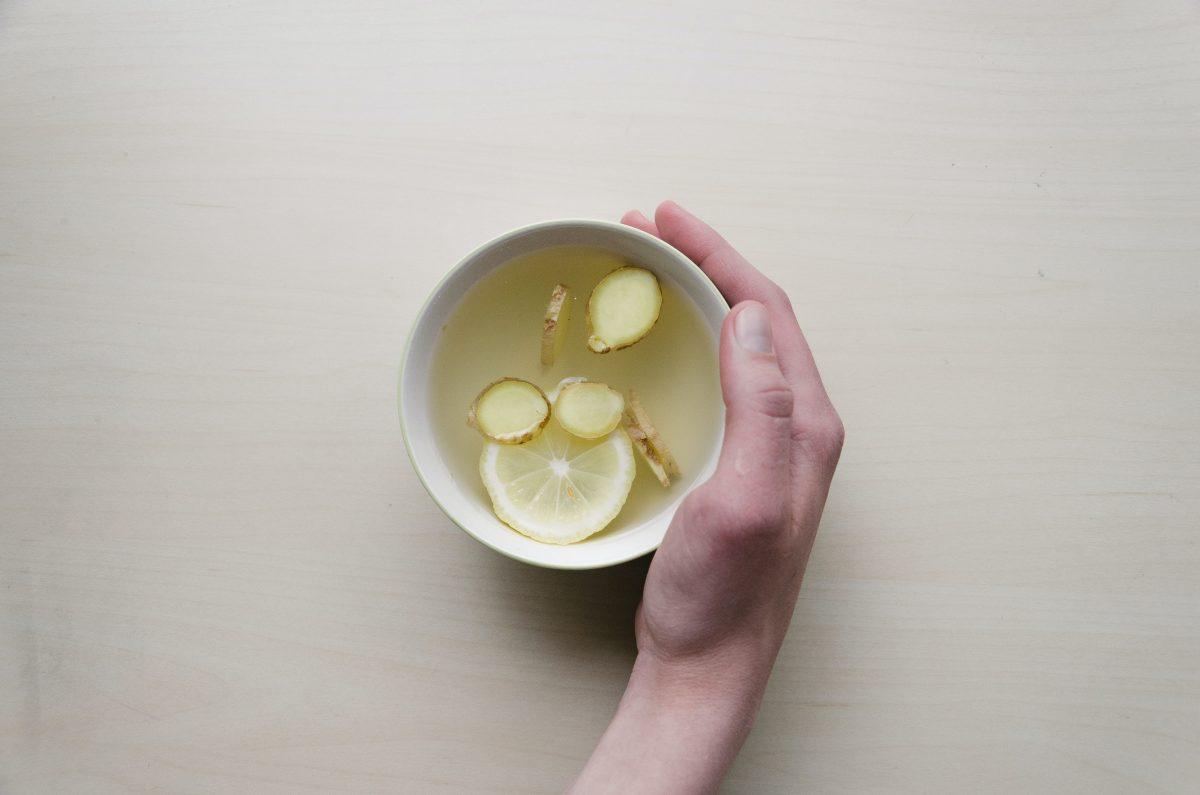 té de jengibre, infusión de jengibre