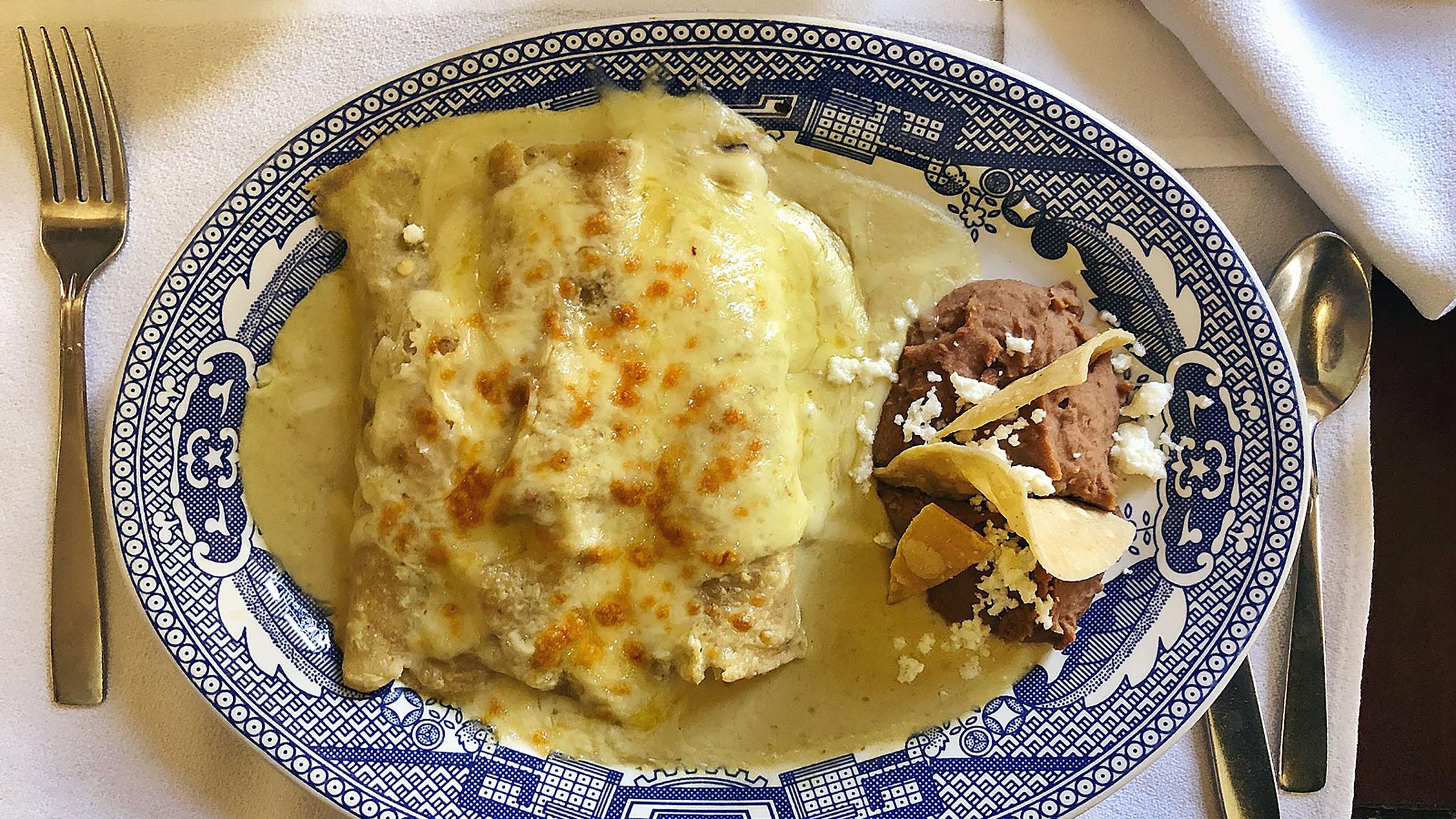 enchilada, enchiladas suizas