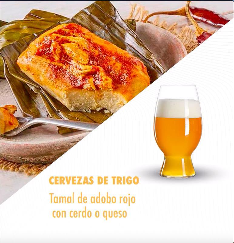 Cervezas-trigo-tamales-cerdo