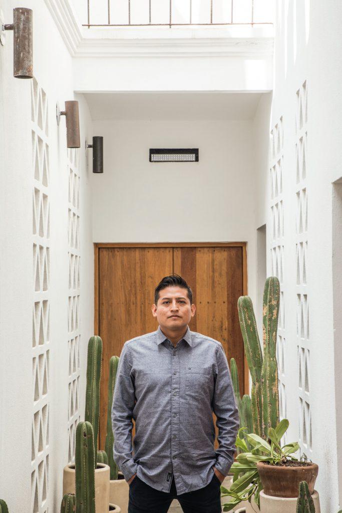Chef Israel Loyola-Restaurante Sin nombre-Oaxaca