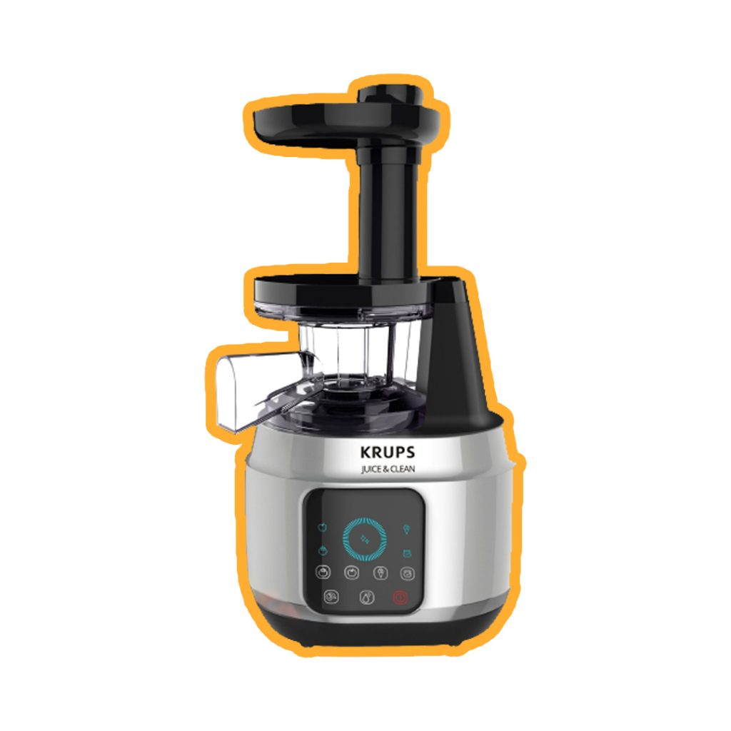 Krups juice and clean-extractor de jugos