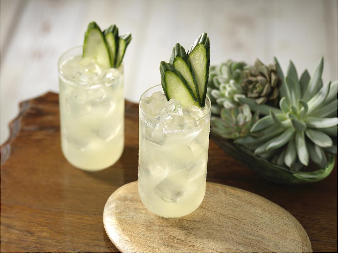Margarita de pepino y Coco-Tequila Patrón