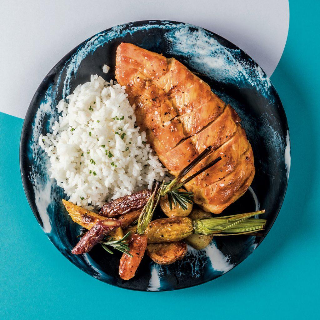 Pollo al grill- Dieta Paola Espinosa