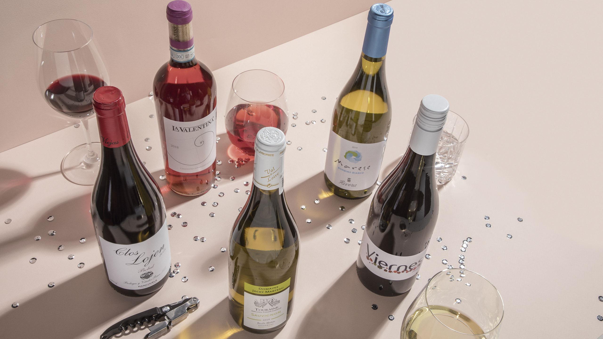 vinos amigables, vino, vino blanco, vino tinto, vino rosado