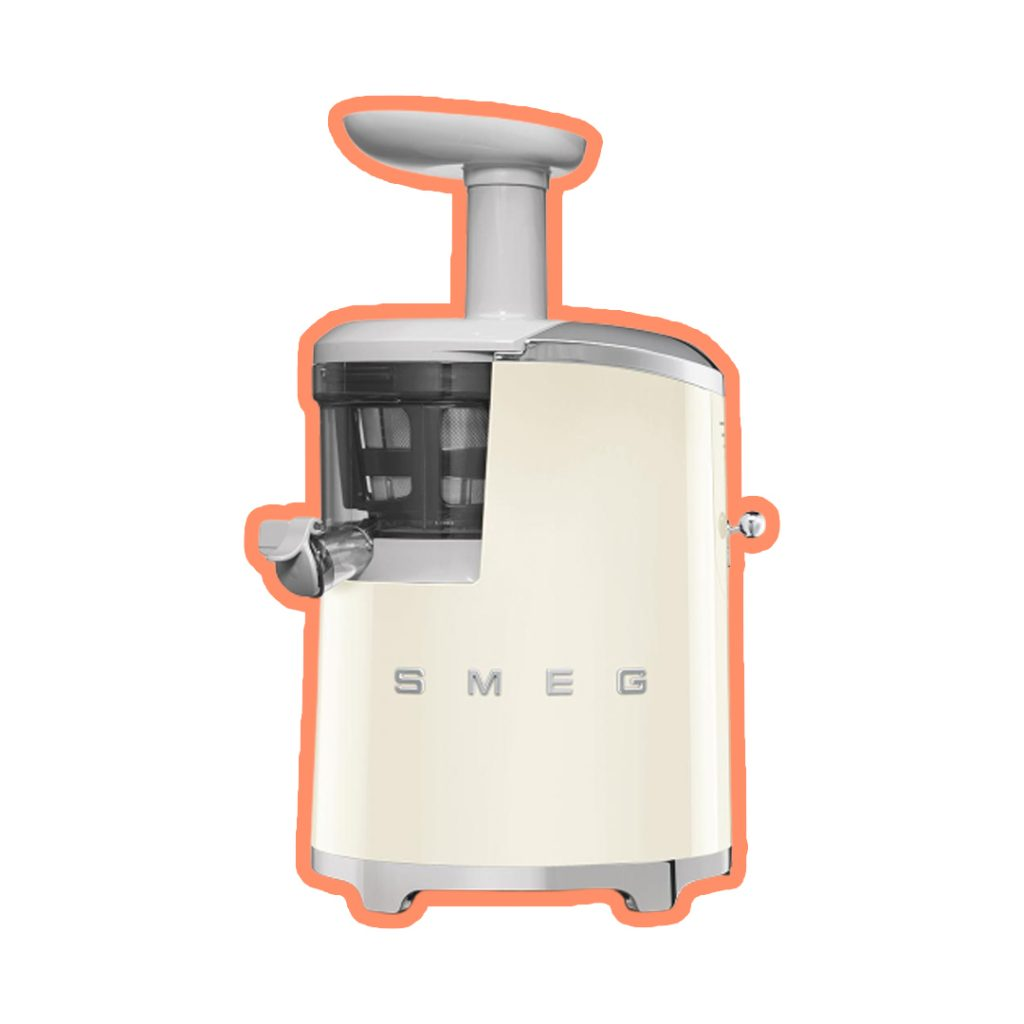 extractor SMEG-jugos cold pressed