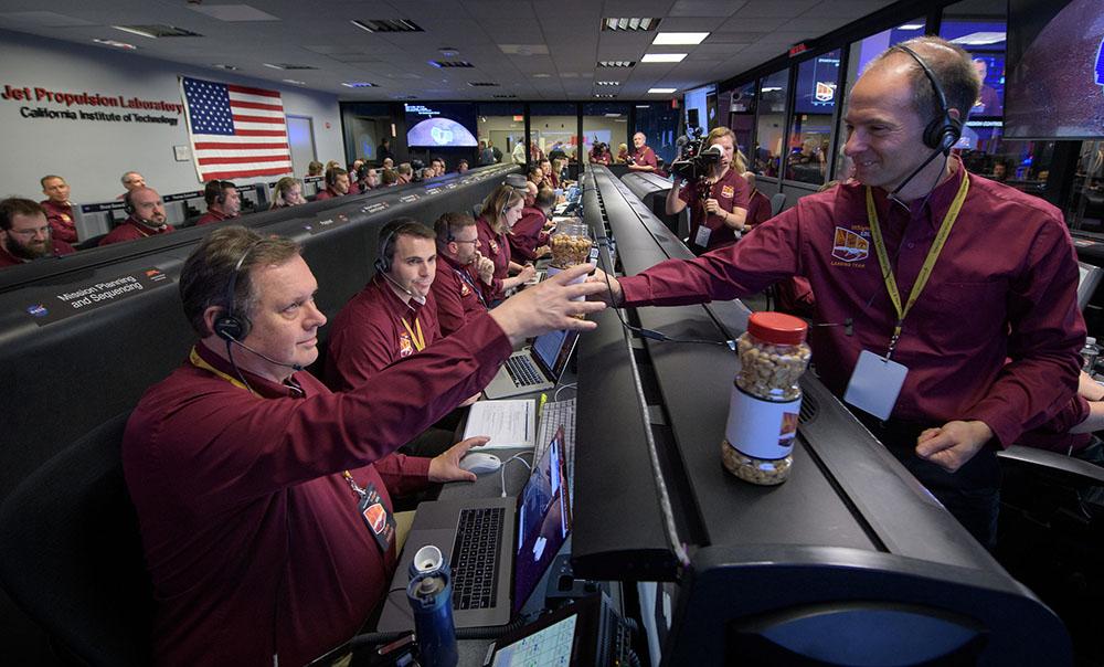 NASA-cacahuates de la suerte