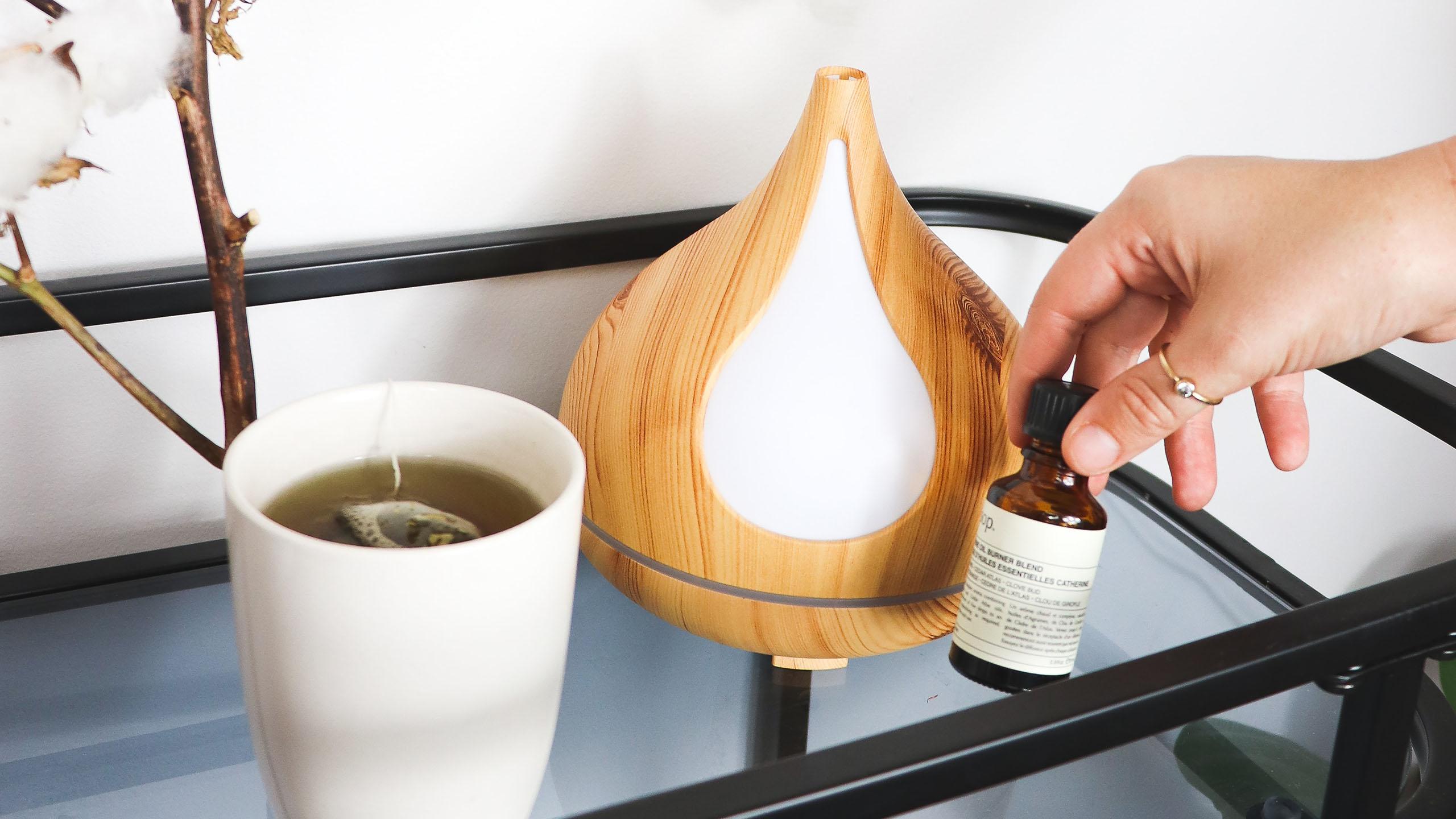 aceites esenciales, terapia