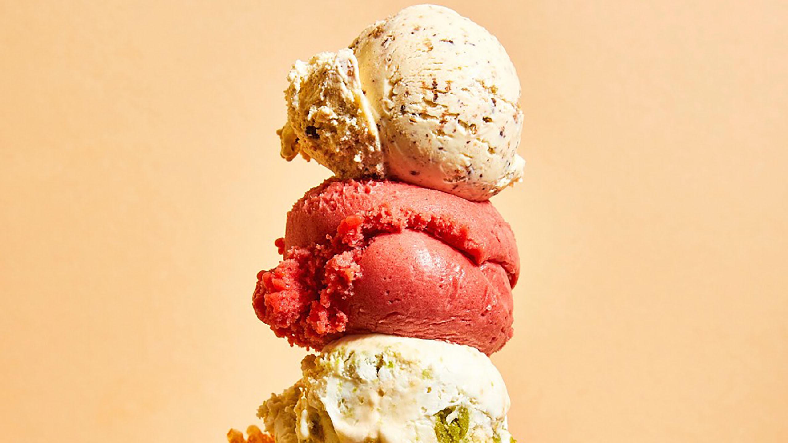 helado, pinta de helado