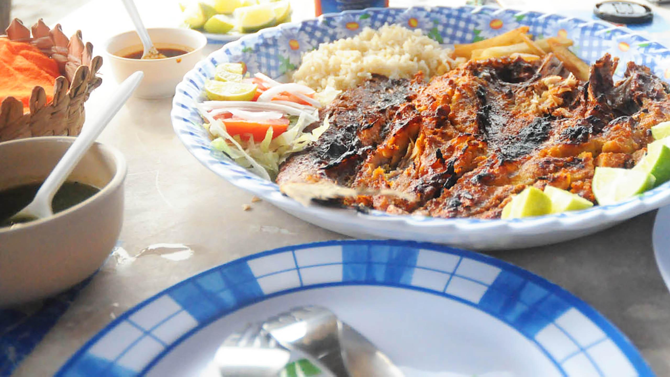 pescado a la talla, Acapulco