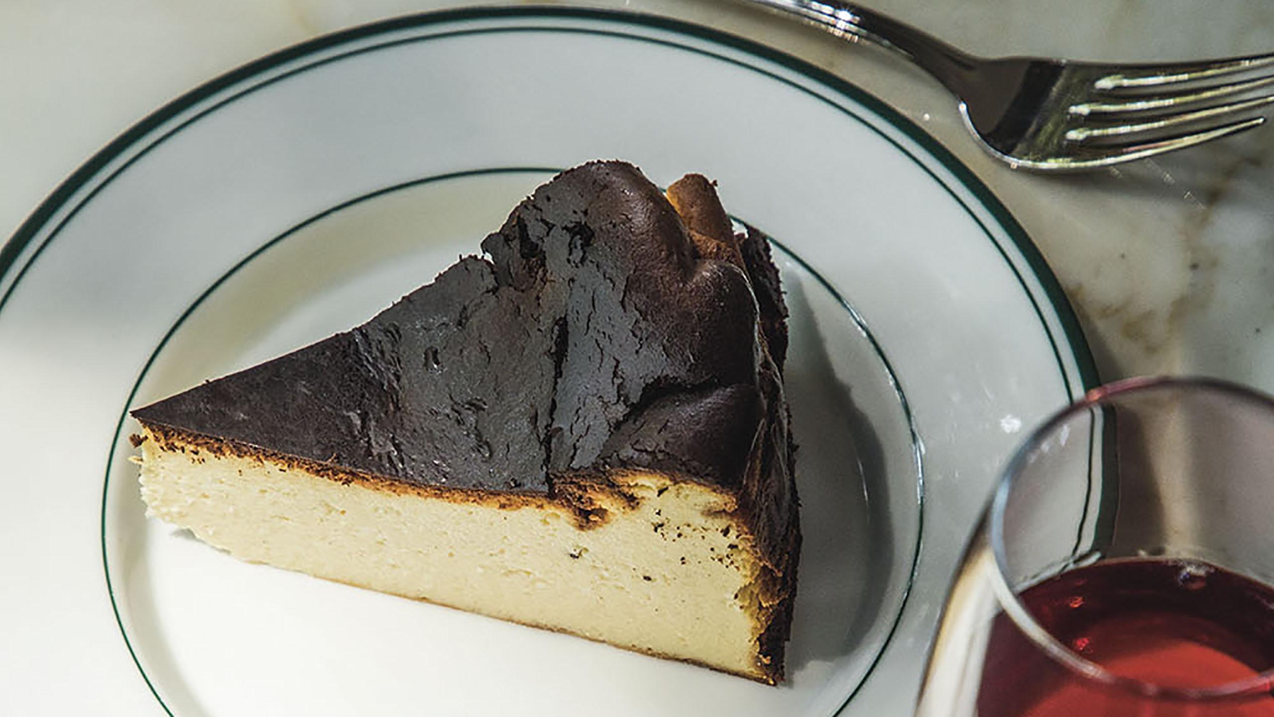 tarta de queso vasca, cheesecake vasco