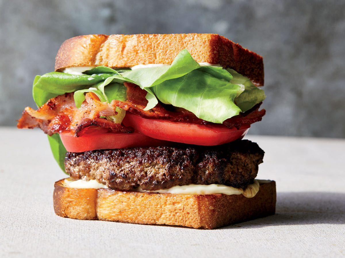 BLT Smash-Burgers