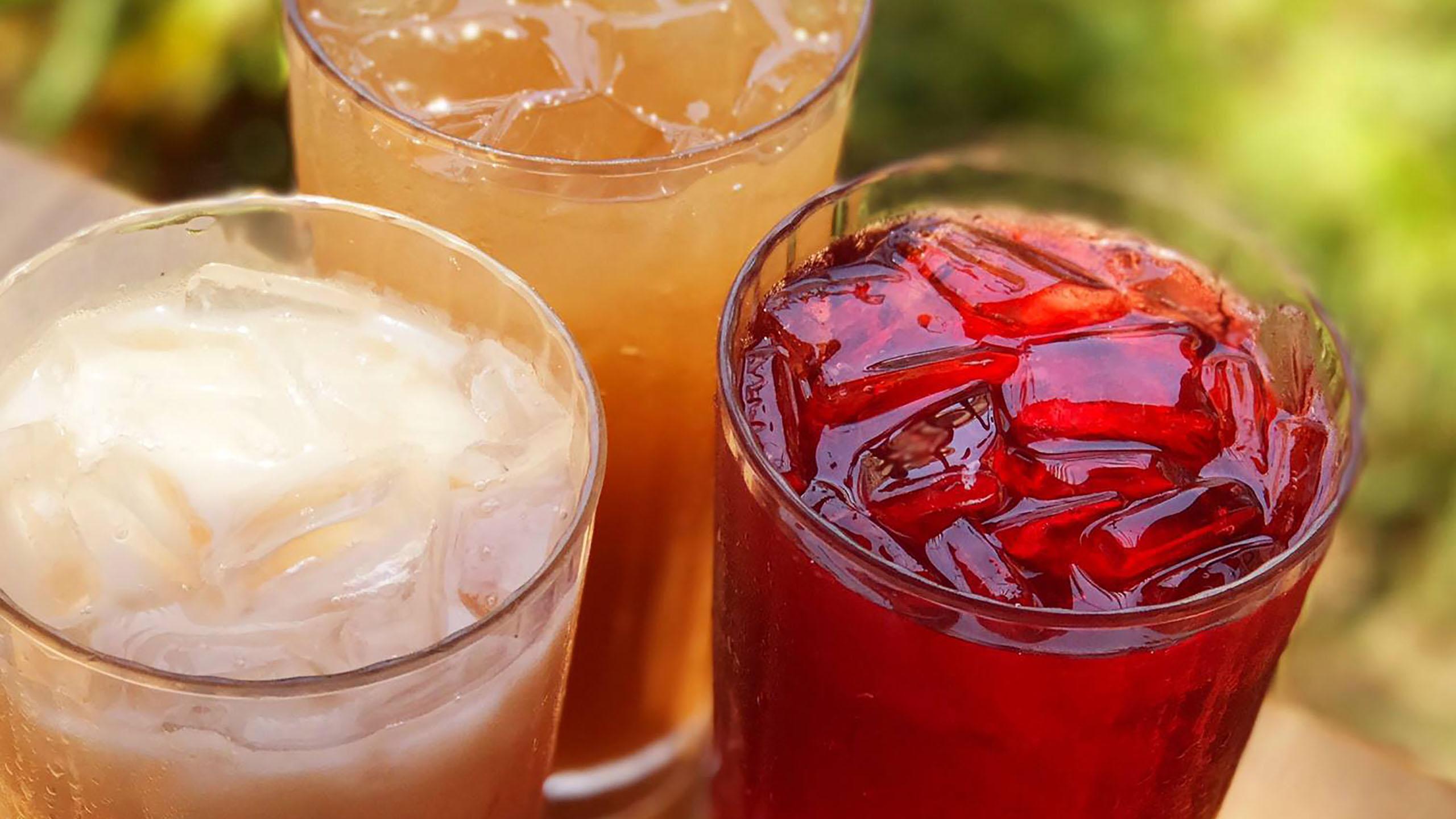agua, saborizante, agua de jamaica