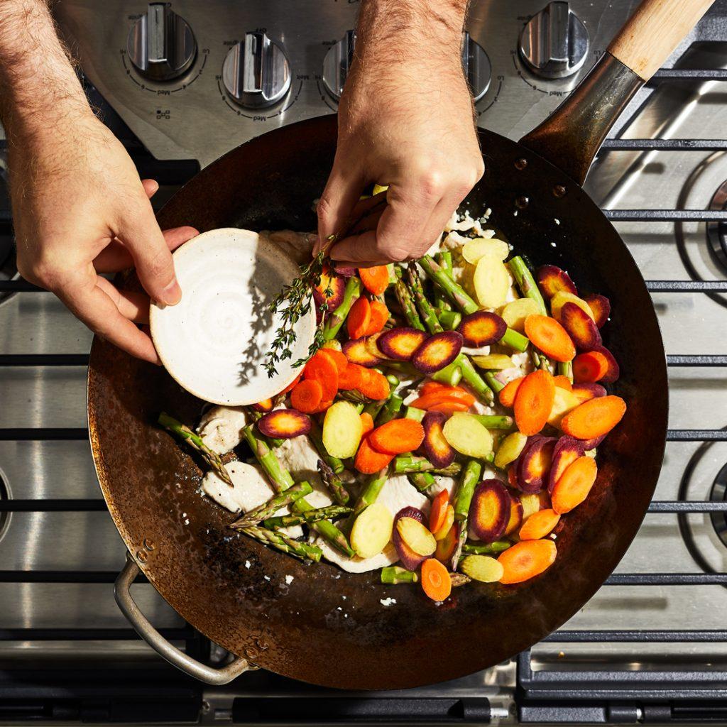 wok-vegetales