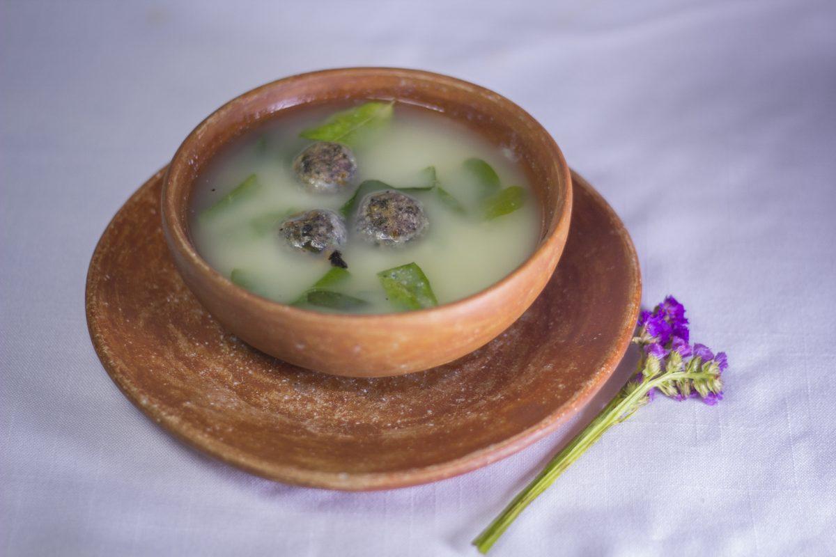 sopa de chipili, chiapas, comida