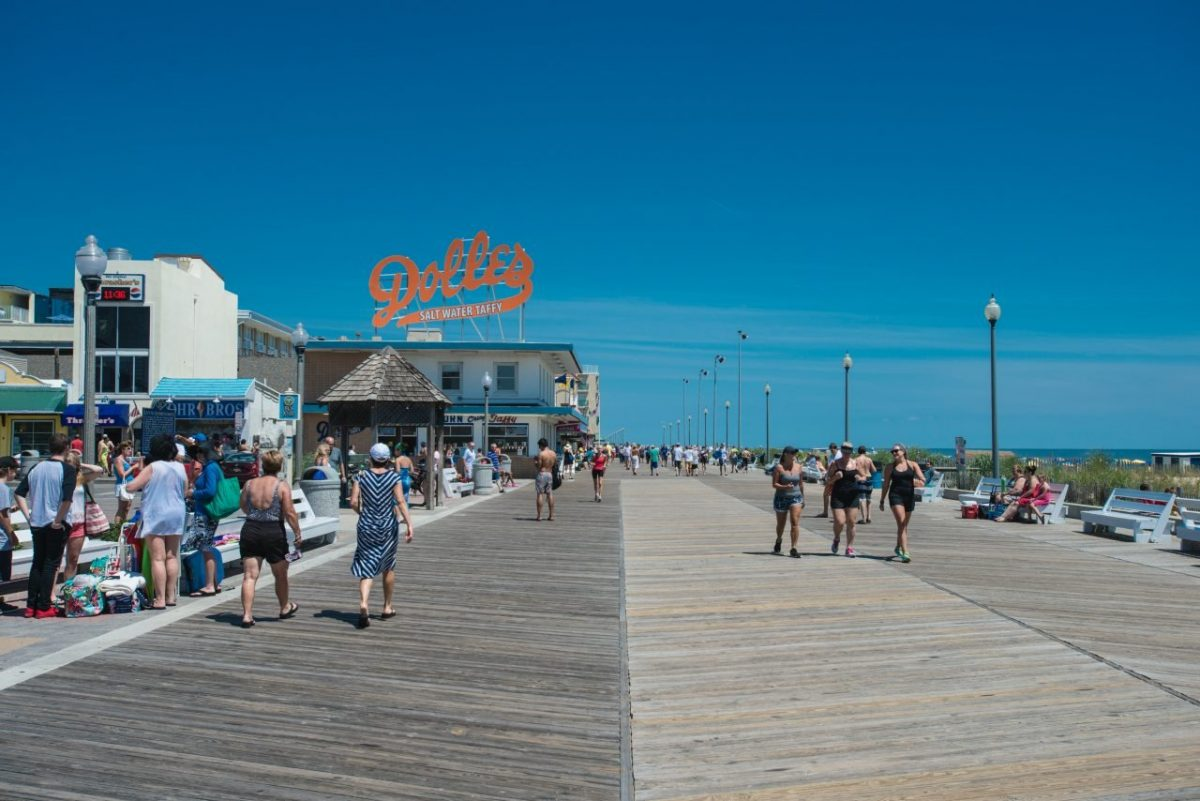 Rehoboth Beach-verano romántico en Estados Unidos