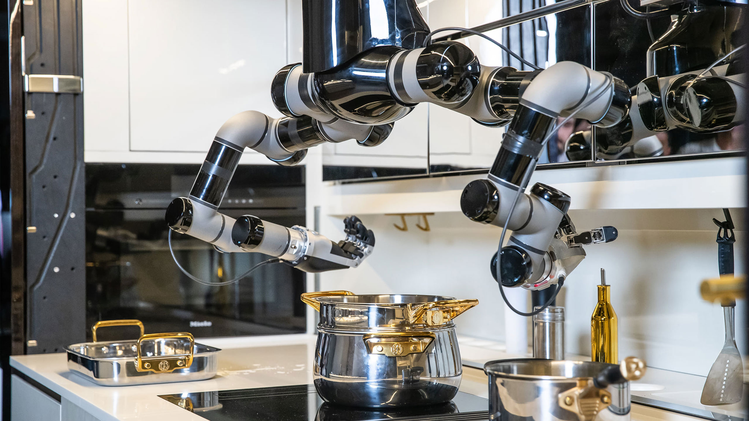 Robot-moley-kitchen