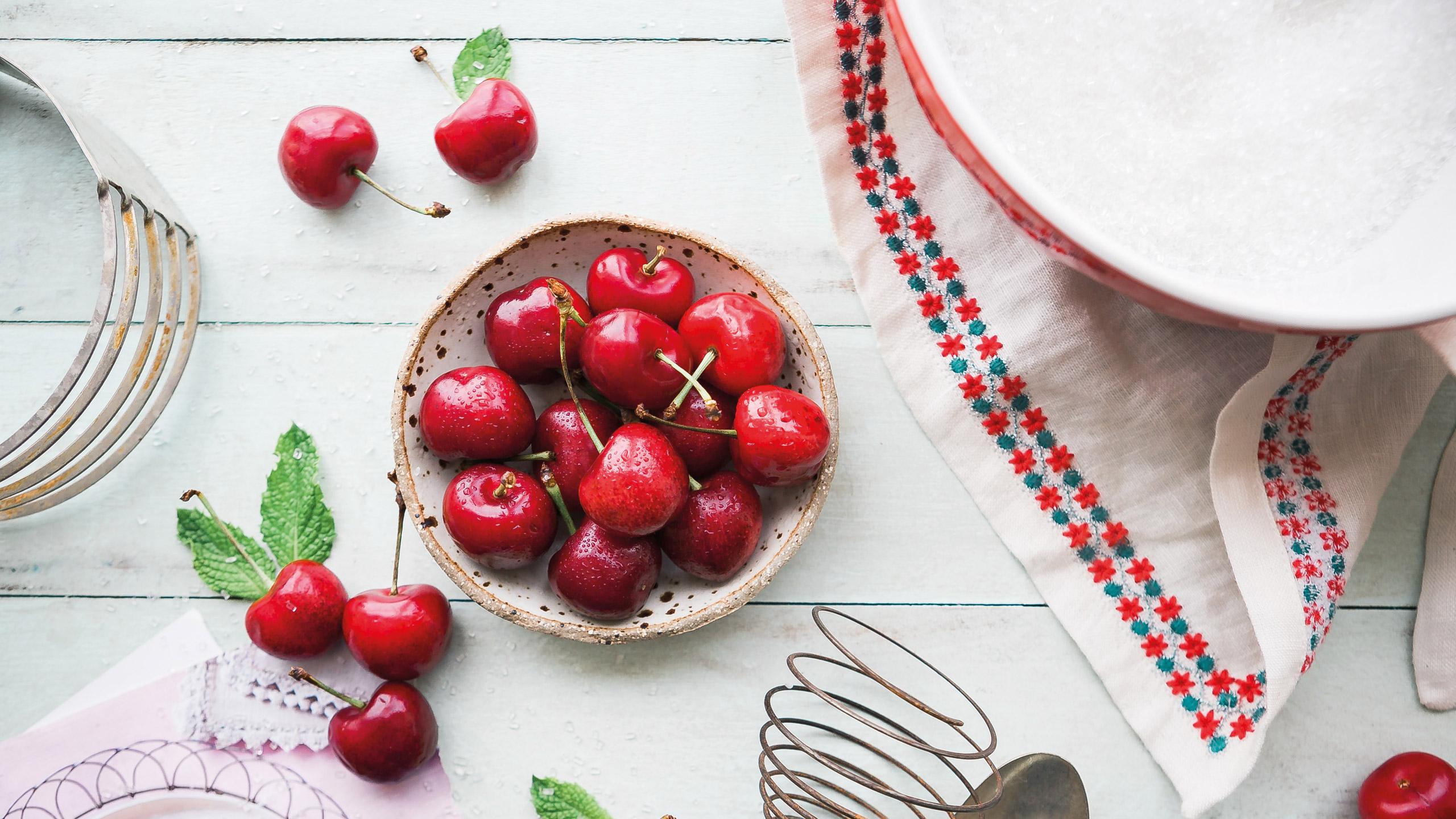 recetas con cerezas